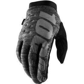 100% Brisker Cold Weather Gloves heather grey
